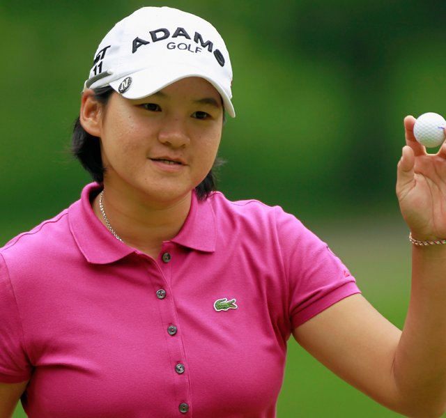 Yani Tseng during the final round of the Wegmans LPGA Championship.