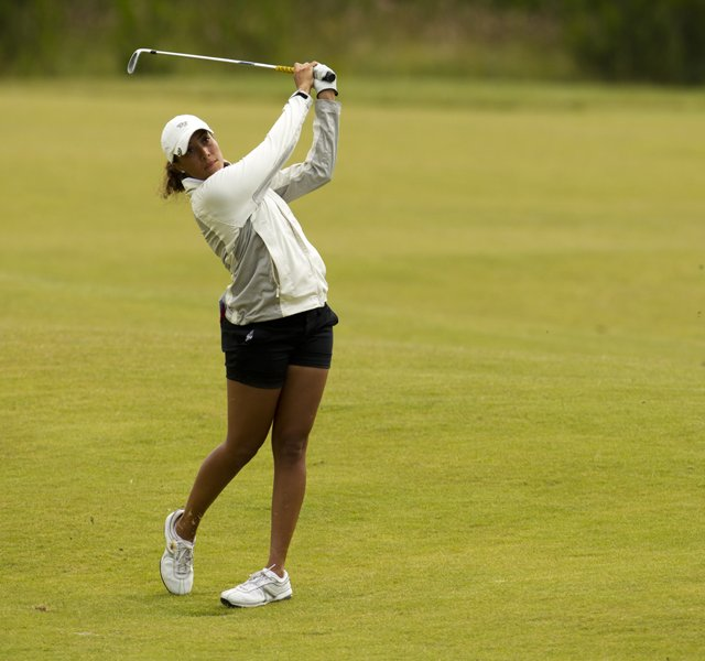 Cheyenne Woods during the 2011 U.S. Women's Amateur Public Links.