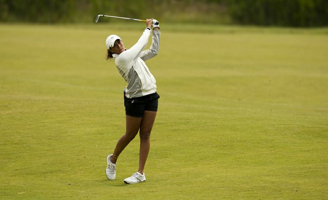 Cheyenne Woods during the 2011 U.S. Women's Amateur Public Links.