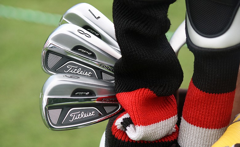 The new Titleist AP2 712 irons
