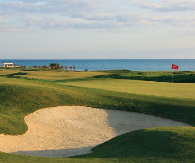 No. 15 on the West Course at Verdura
