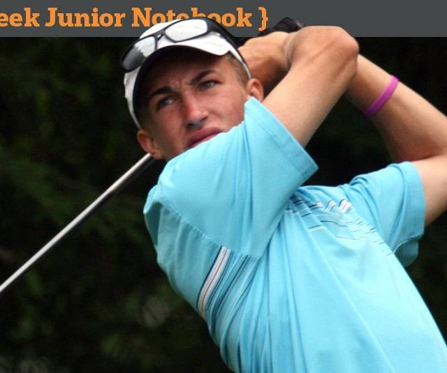 Nick Duffield during the AJGA's Natural Resource Partners Bluegrass Junior.