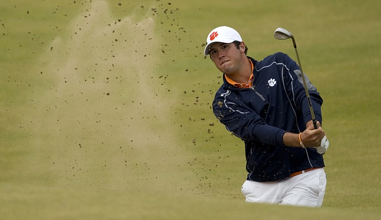 Corbin Mills during the final round of the U.S. Amateur Public Links Championship.