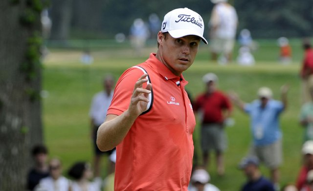 Nick Watney during the final round of the AT&T National