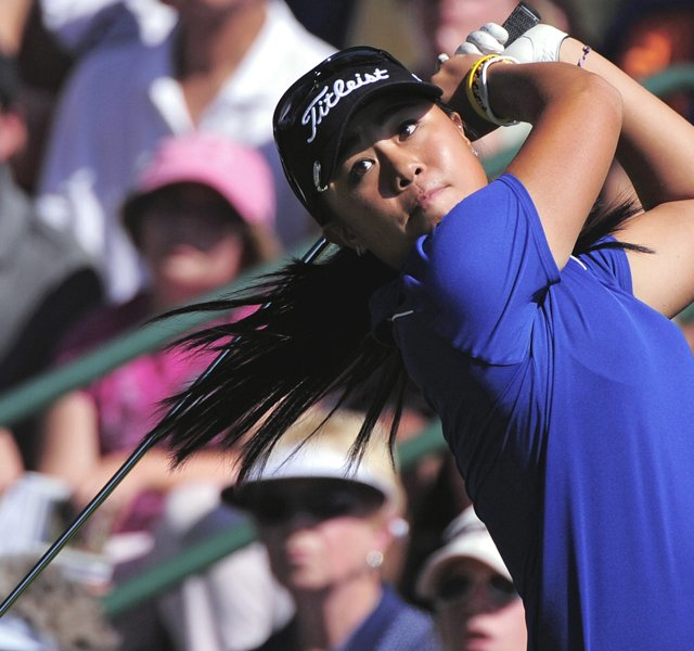 Danielle Kang during the opening round of the U.S. Women's Open.