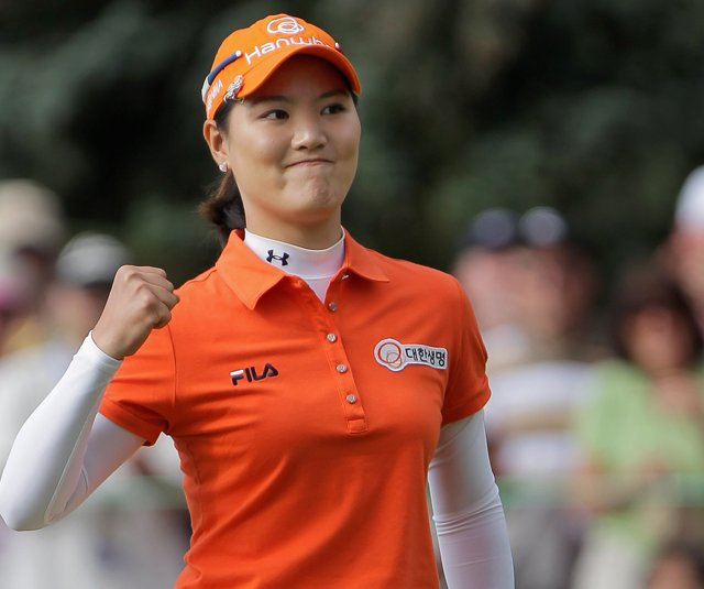 So Yeon Ryu at the 2011 U.S. Women&#39;s Open