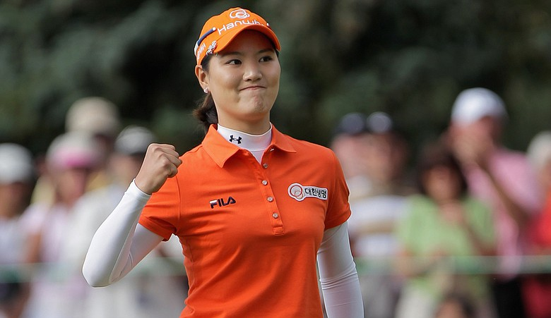 So Yeon Ryu at the 2011 U.S. Women's Open