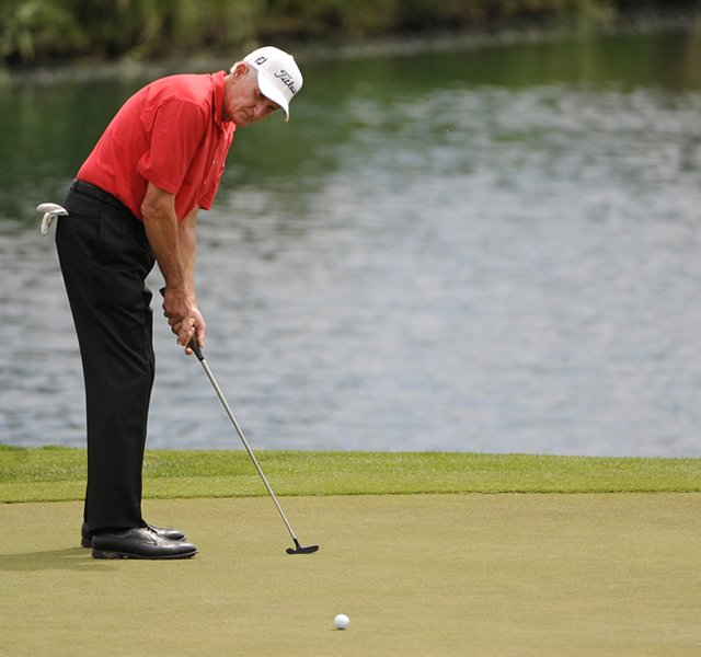 Bob Charles has advice to everyone searching for a putter: &quot;...find a putter that feels right and keep using it. Over a period of time, you can develop the proper touch - something you can depend on.&quot;