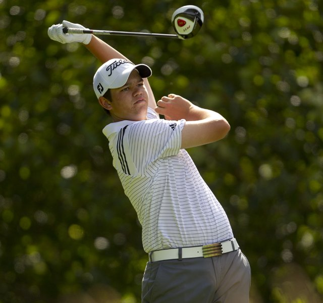Beau Hossler enters match play at the U.S. Junior as the top seed after a stellar opening two rounds in Bremerton, Wash.