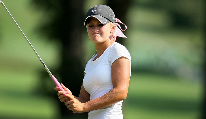 Collins Bradshaw missed match play at the U.S. Girls' Junior by a single stroke.