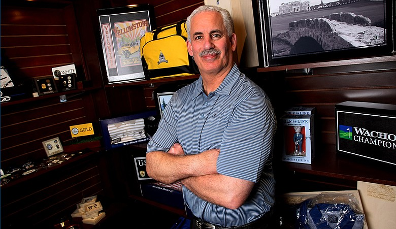 Ken Shwartz, CEO and founder of Ahead, is pictured during the 2009 PGA Merchandise Show.