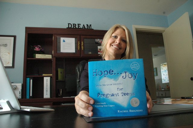 Rachel Brignoni wrote a book to help teen girls cope with pregnancy.