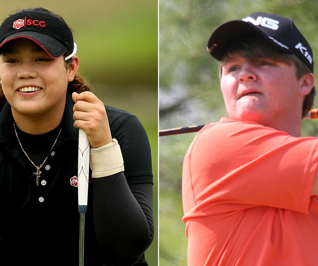 Ariya Jutanugarn and Cody Proveaux 