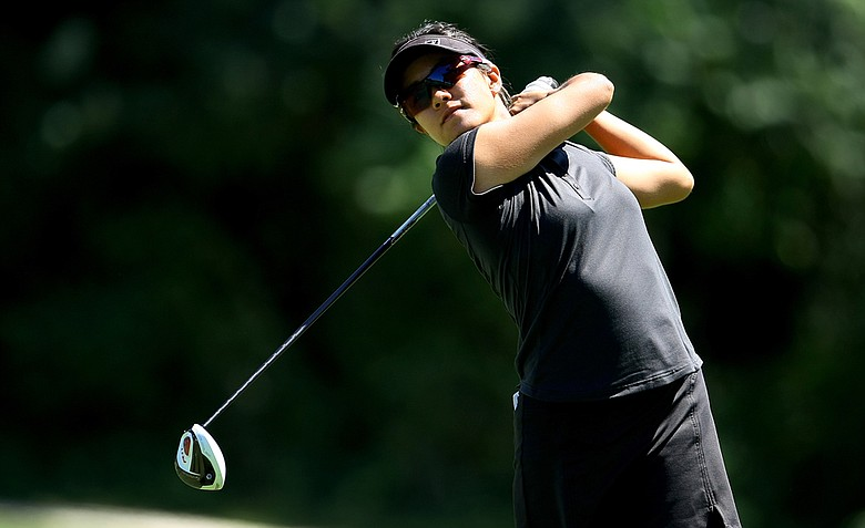 Stephanie Kono defeated Lydia Ko, 3 & 2, during the Round of 32 at the U. S. Women's Amateur Championship at Rhode Island Country Club in Barrington, Rhode Island.