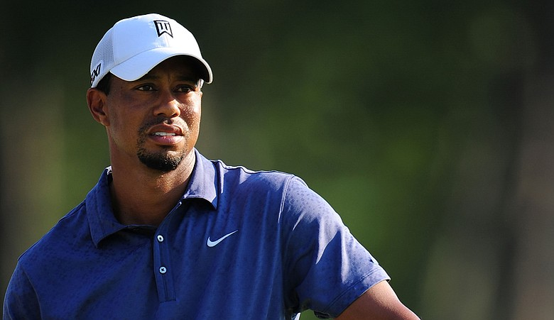 Tiger Woods during the PGA Championship.