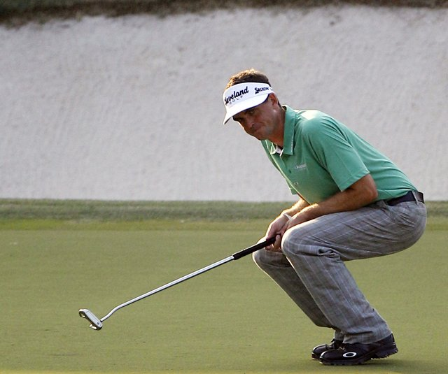 Keegan Bradley won the PGA Championship with a long putter.
