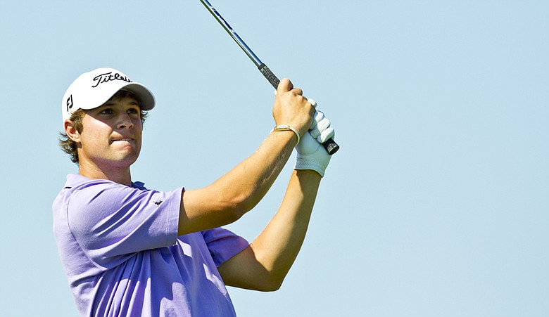 Peter Uihlein during the Round of 16 at the U.S. Amateur.