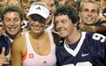 Wozniacki will caddie for McIlroy in Par-3 Contest