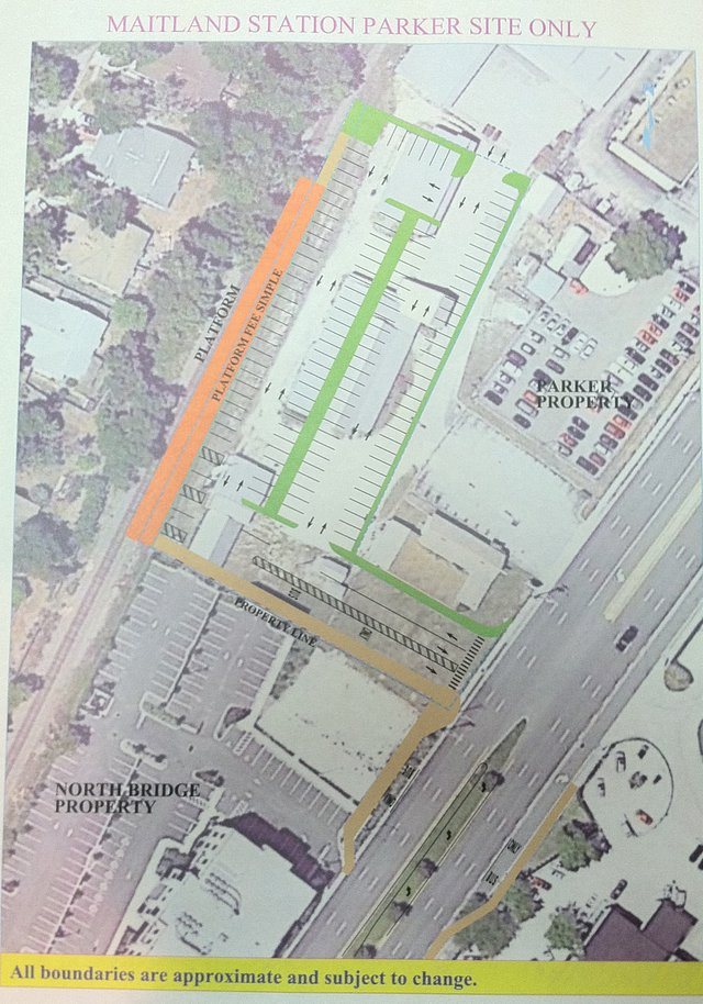 Plans for SunRail station on the Parker Lumber site on Highway 17-92 are moving forward.