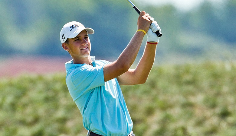 Patrick Rodgers won the medalist honors at Olympia Fields on Sunday.