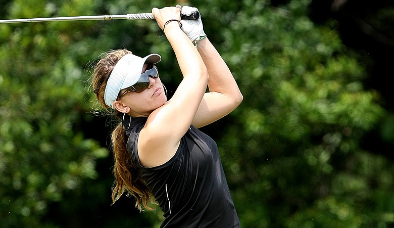 Sydnee Michaels during the second round of the 2010 Women's NCAA Championship.