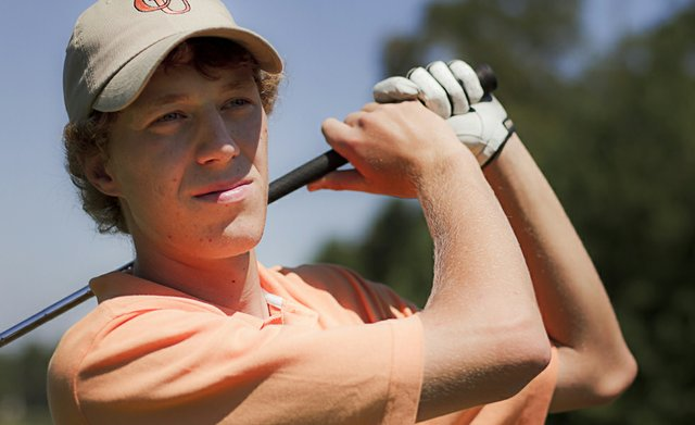 Campbell University freshman Andy Gai fired an opening-round 64, including a back-nine 29, on the first day of competition at the Golfweek Program Challenge in Myrtle Beach, S.C.