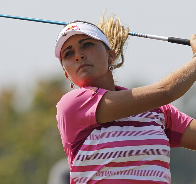 Lexi Thompson during Round 3 of the Navistar LPGA