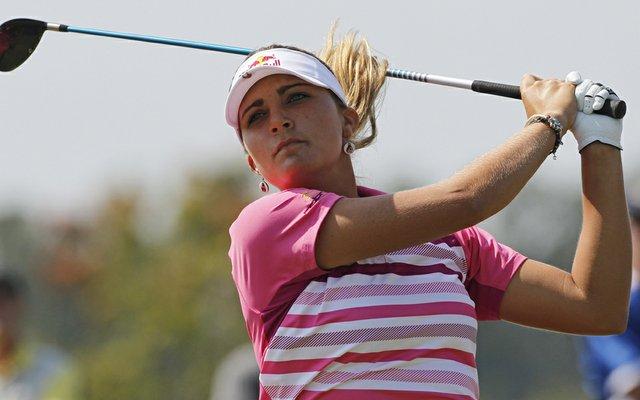 Lexi Thompson during Round 3 of the Navistar LPGA