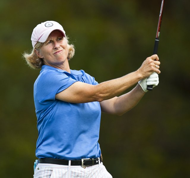 Ellen Port during the 2011 U.S. Women&#39;s Mid-Amateur