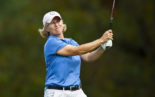 Ellen Port during the 2011 U.S. Women's Mid-Amateur