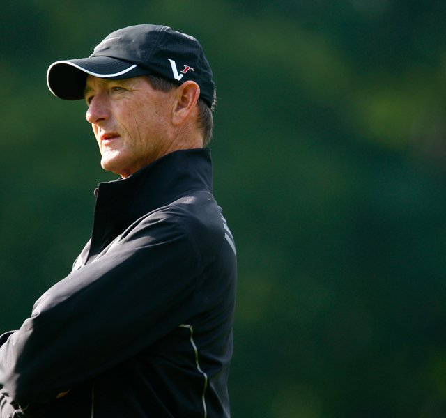 Hank Haney during the 2009 U.S. Open.