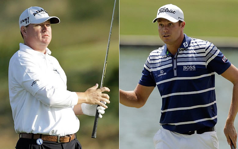Chad Campbell and Nick Watney