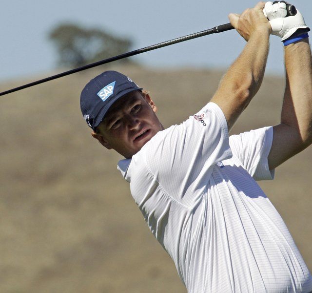 Ernie Els during the third round of the Frys.com Open