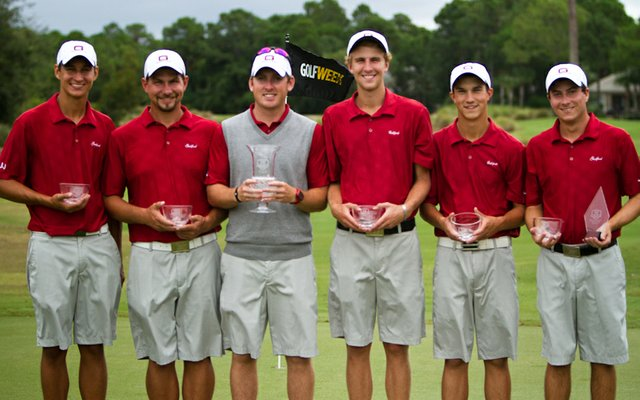 Guilford College won the Golfweek Division III Fall Invitational