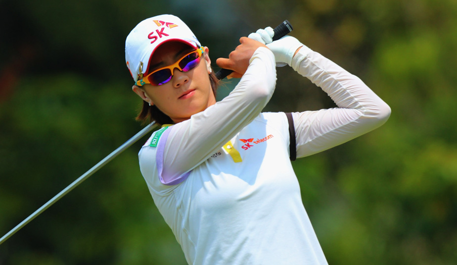 Defending champ Choi leads  Na Yeon Choi Swing