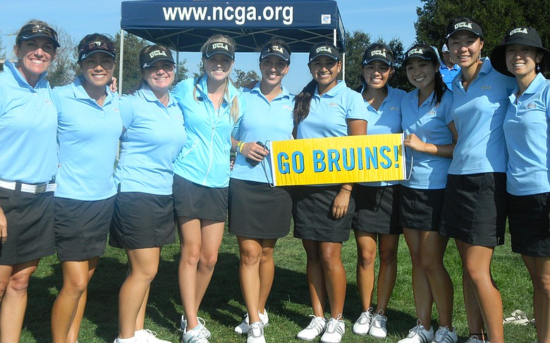UCLA after winning the Stanford Intercollegiate on Oct. 16.