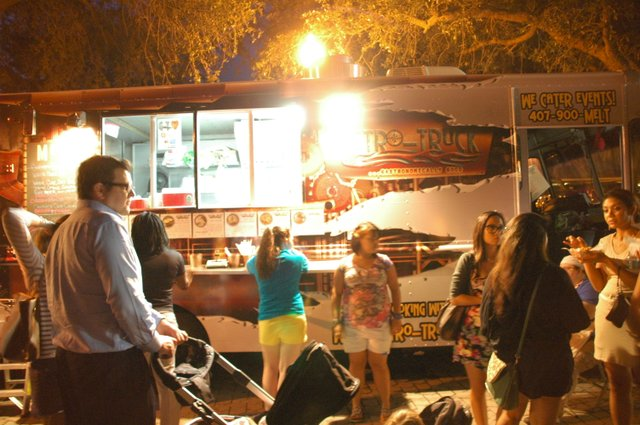 Patrons flooded Maitland's Lake Lily Park for food truck cuisine Sept. 20.