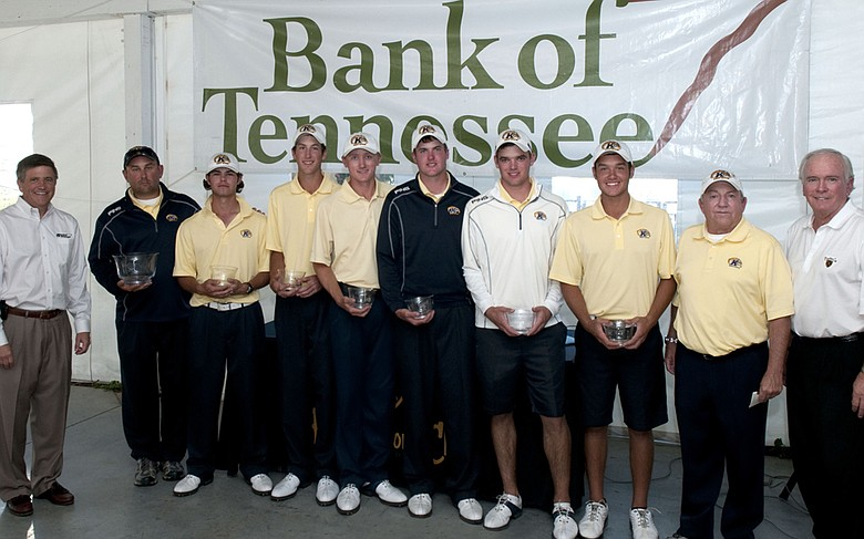 Kent State after winning the Bank of Tennessee Intercollegiate on Oct. 16.