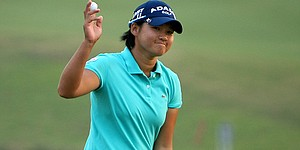 Tseng, Ai Miyazato share one-shot lead in Taiwan