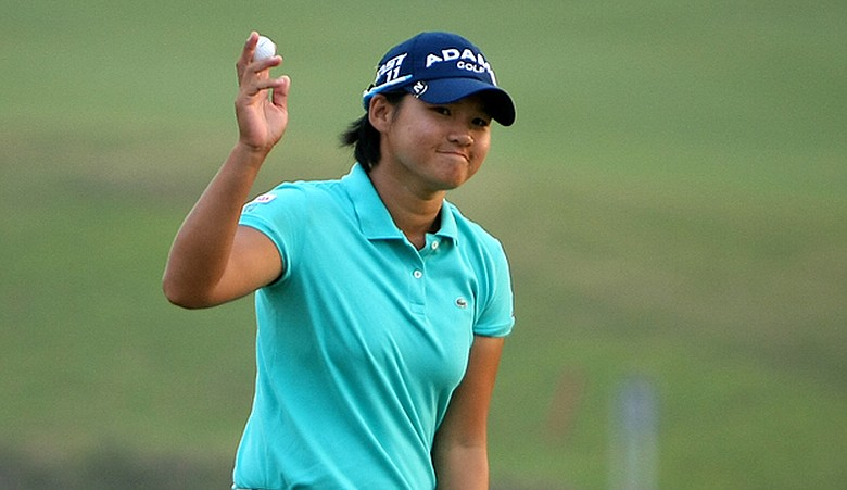 Yani Tseng during the first round of the Sunrise LPGA Championship.