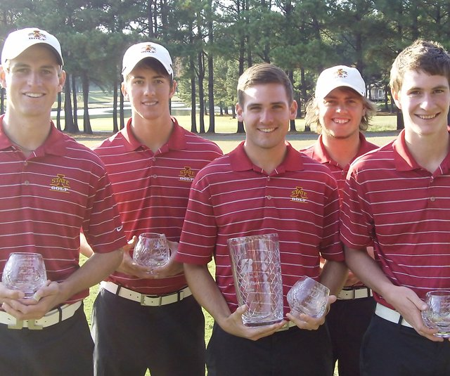 Iowa State after winning the Bridgestone Golf Collegiate.