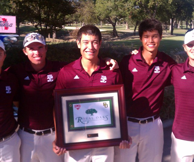 Texas A&M after winning the Royal Oaks Intercollegiate