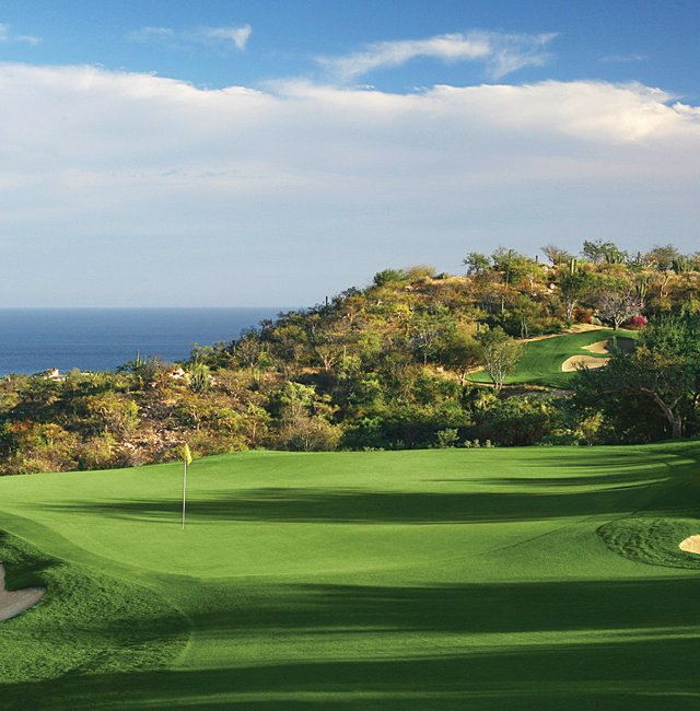 No. 7th hole at Querencia in San Jose del Cabo, Mexico.