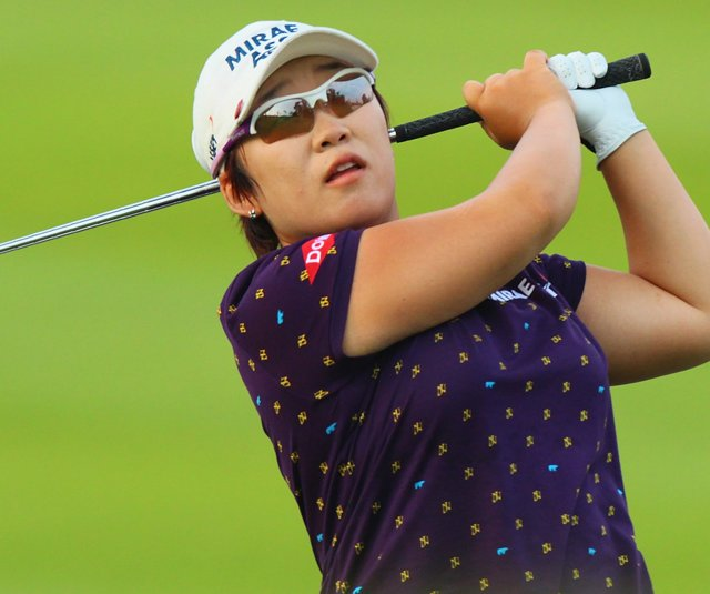 Jiyai Shin during the Sime Darby LPGA.