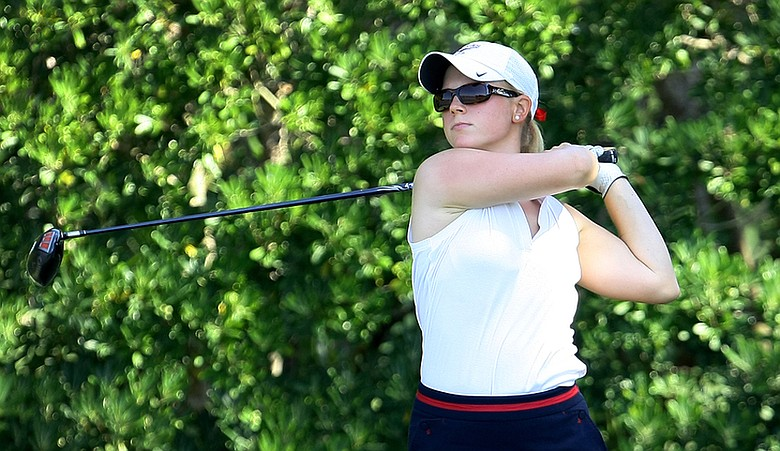 Madison Pressel during the Women's Western Amateur.
