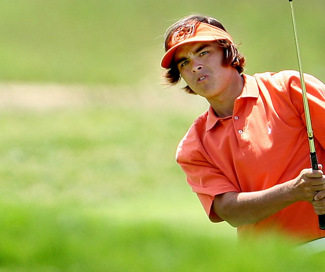Rickie Fowler during his days at Oklahoma State University.