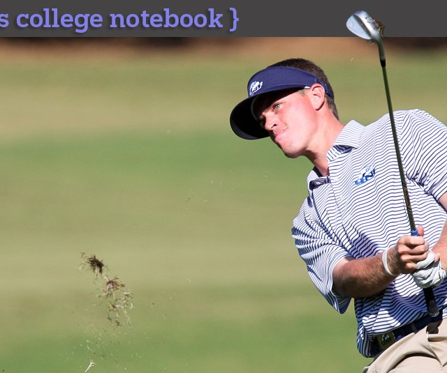 Sean Dale during the Isleworth Collegiate Invitational