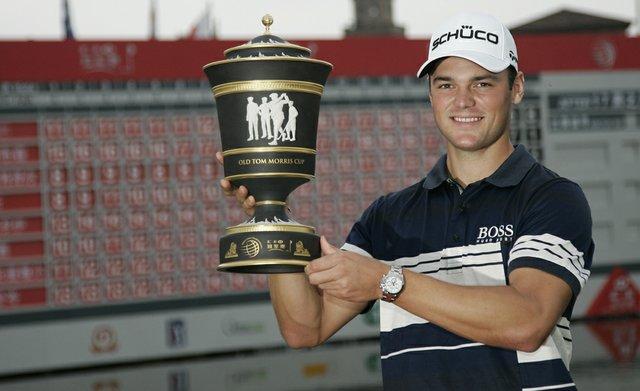 Martin Kaymer after winning the WGC-HSBC Champions