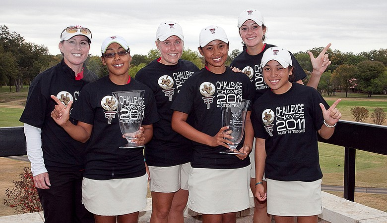 Texas Tech after winning the Challenge at Onion Creek