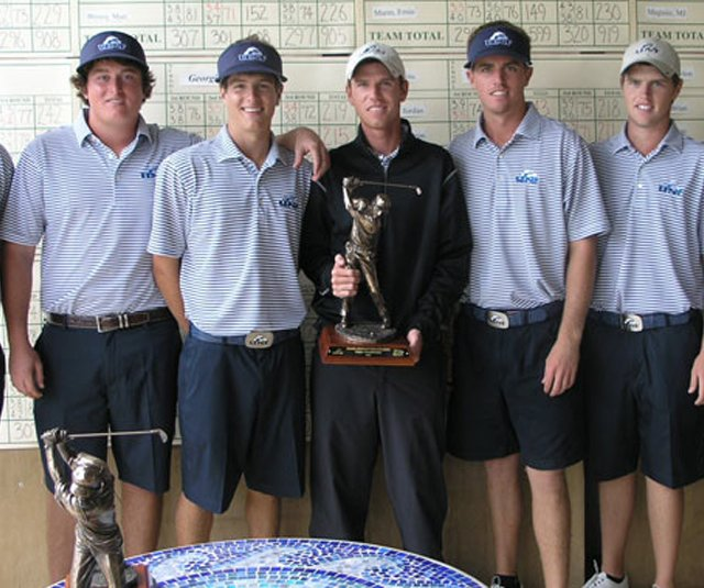 University of North Florida after winning the Amelia National Intercollegiate.